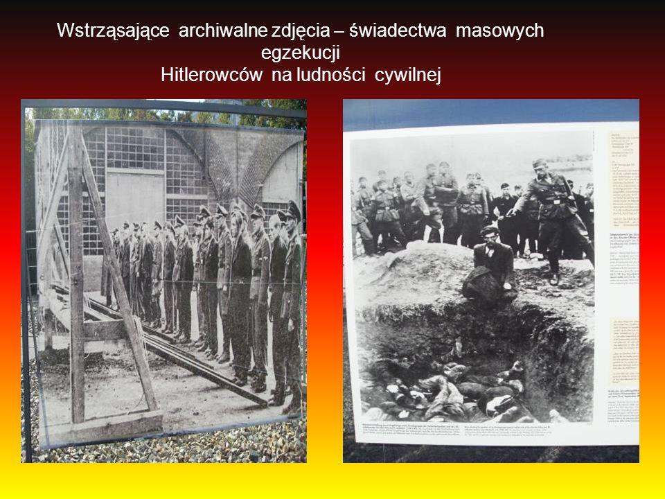 Wstrząsające archiwalne zdjęcia – świadectwa masowych egzekucji Hitlerowców na ludności cywilnej