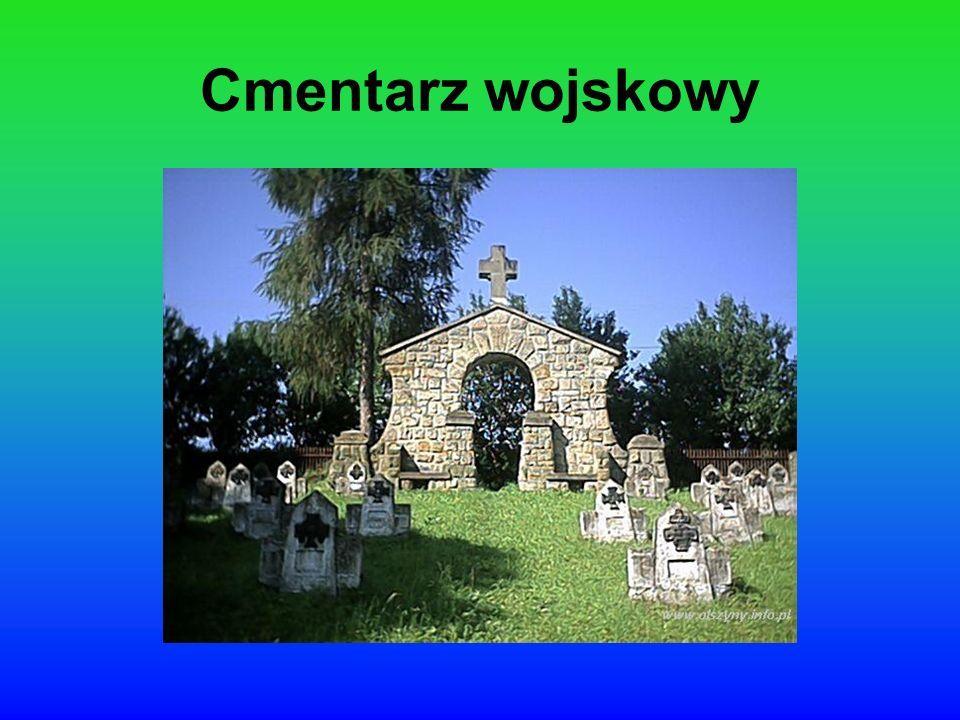 Jedyną widoczną pozostałością po czasach I wojny światowej jest cmentarz.