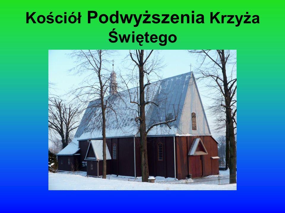 Kościół zbudowany został w 1900 r.