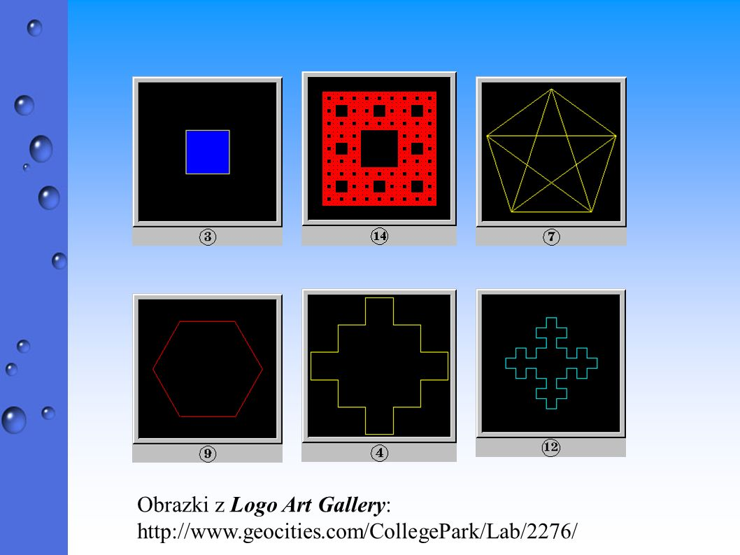 Obrazki z Logo Art Gallery: http://www.geocities.com/CollegePark/Lab/2276/