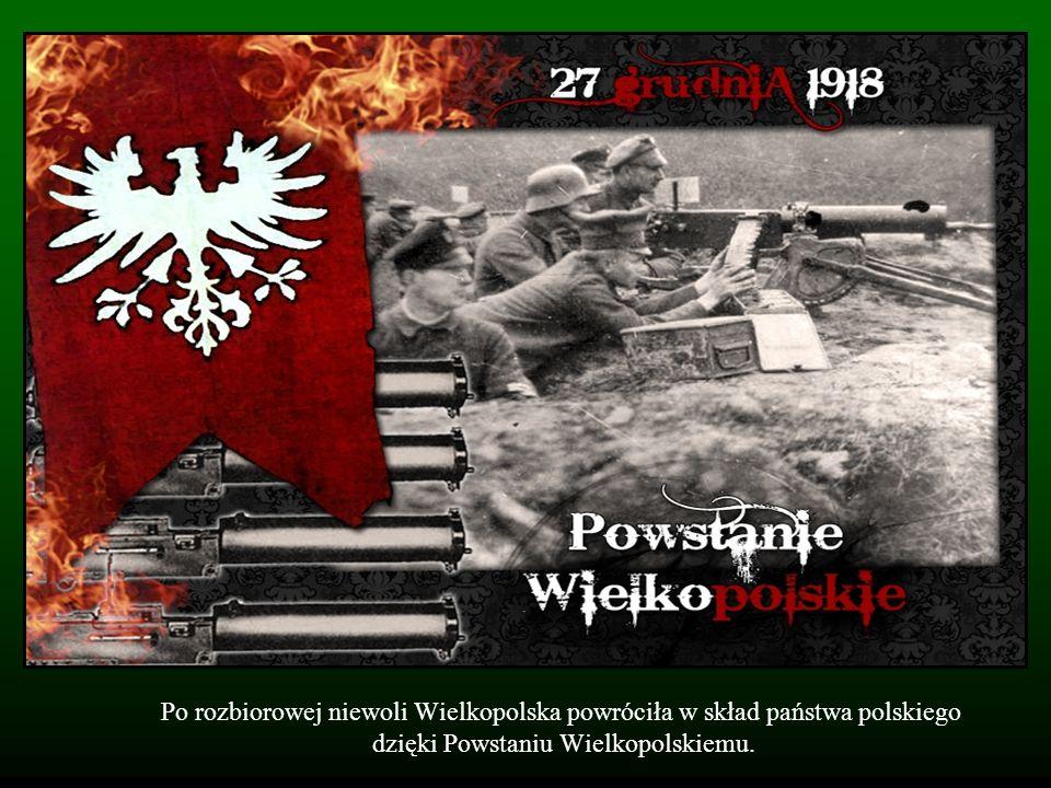 Powstanie w Wielkopolsce trwało do 16 lutego 1919 roku.