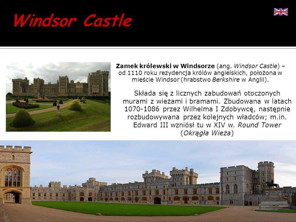 Zamek królewski w Windsorze (ang. Windsor Castle) – od 1110 roku rezydencja królów angielskich, położona w mieście Windsor (hrabstwo Berkshire w Angli