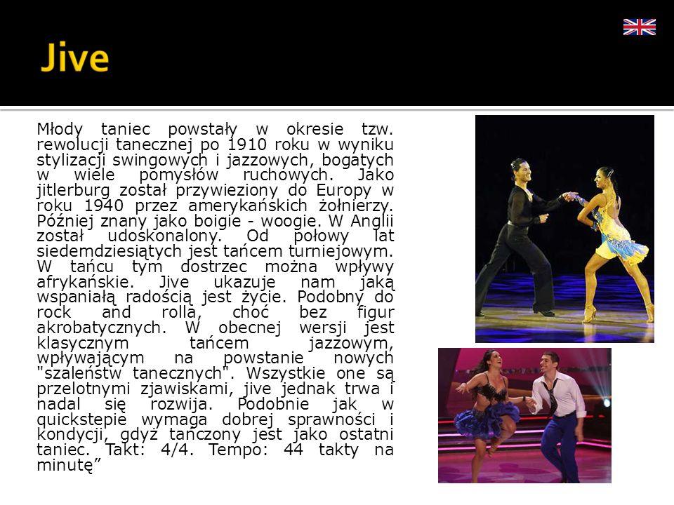 Młody taniec powstały w okresie tzw. rewolucji tanecznej po 1910 roku w wyniku stylizacji swingowych i jazzowych, bogatych w wiele pomysłów ruchowych.
