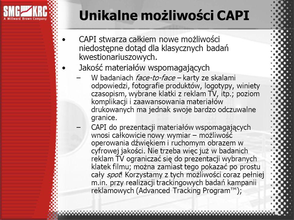 Badania CAPI stały się trwałym i ważnym elementem oferty SMG/KRC.