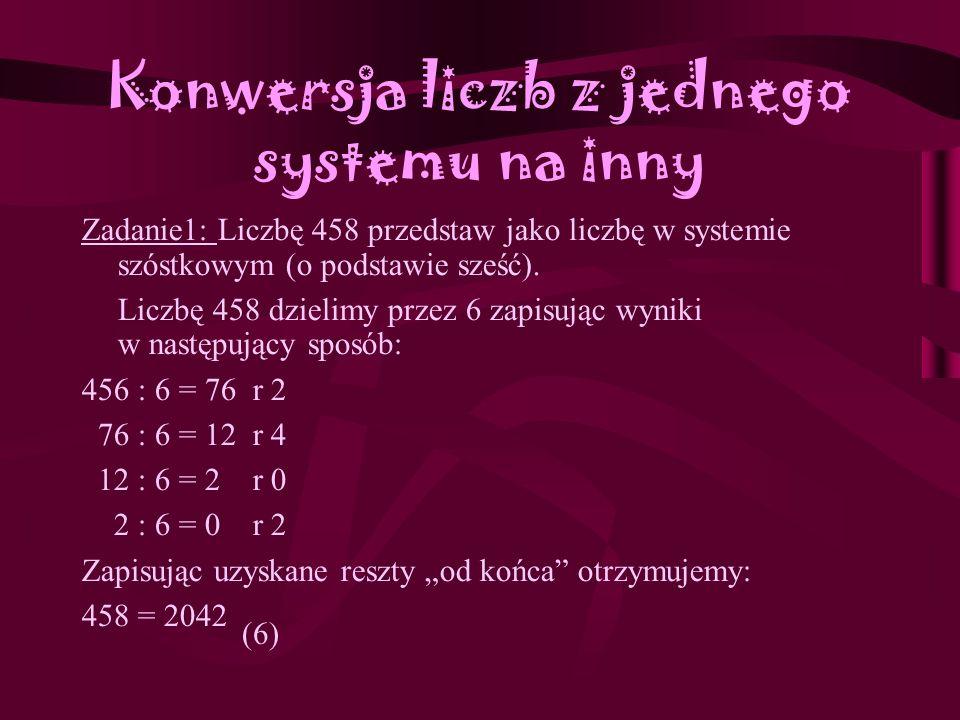 Zadanie 3 Teoria zamienia si ę w praktyk ę... czyli ulubione zadanka ;)