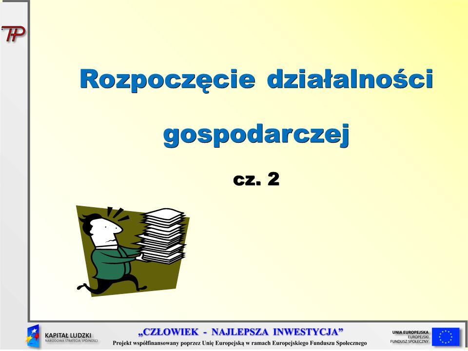 Wybór formy organizacyjno-prawnej wpływa na odpowiedzialność, jaką będziemy ponosić oraz na sposób prowadzenia księgowości: Uproszczona - Książka Przychodów i Rozchodów, karta podatkowa, ryczałt Pełna - Księgi Rachunkowe Formy prawno-organizacyjne (2)