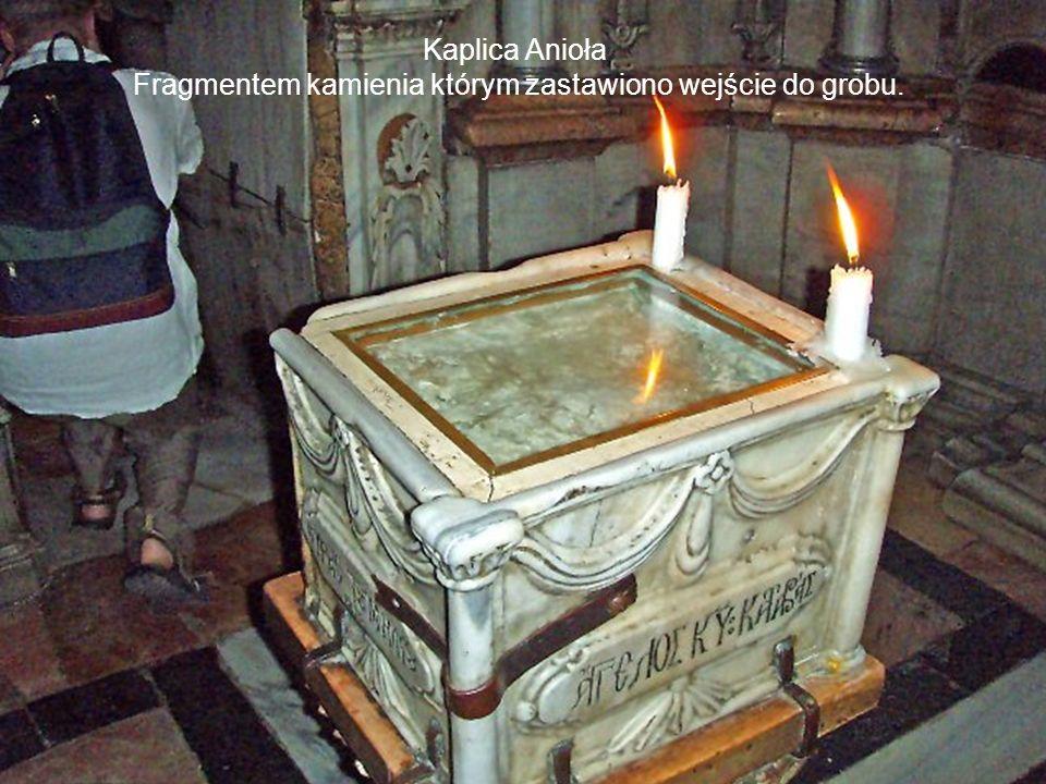 Kaplica Anioła, wejście do grobu.