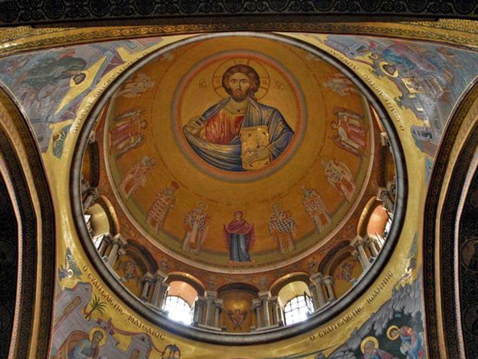 Kopuła nad chórem Greków