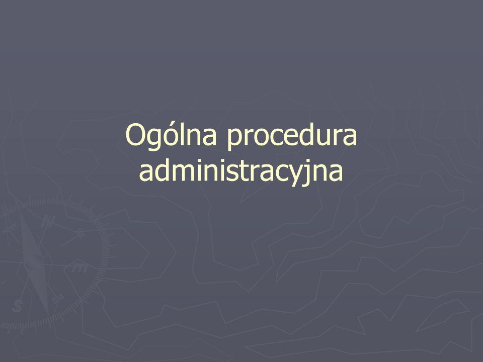 Podstawowe zasady z których wynikają prawa stron Normuje ją Kodeks postępowania administracyjnego (KPA) Normuje ją Kodeks postępowania administracyjnego (KPA) Podstawowe zasady (prawa stron): Podstawowe zasady (prawa stron): zasada prawdy obiektywnej: W toku postępowania organy administracji publicznej stoją na straży praworządności, z urzędu lub na wniosek stron podejmują wszelkie czynności niezbędne do dokładnego wyjaśnienia stanu faktycznego oraz do załatwienia sprawy, mając na względzie interes społeczny i słuszny interes obywateli zasada prawdy obiektywnej: W toku postępowania organy administracji publicznej stoją na straży praworządności, z urzędu lub na wniosek stron podejmują wszelkie czynności niezbędne do dokładnego wyjaśnienia stanu faktycznego oraz do załatwienia sprawy, mając na względzie interes społeczny i słuszny interes obywateli zasada czynnego udziału stron w postępowaniu: Organy administracji publicznej obowiązane są zapewnić stronom czynny udział w każdym stadium postępowania, a przed wydaniem decyzji umożliwić im wypowiedzenie się co do zebranych dowodów i materiałów oraz zgłoszonych żądań zasada czynnego udziału stron w postępowaniu: Organy administracji publicznej obowiązane są zapewnić stronom czynny udział w każdym stadium postępowania, a przed wydaniem decyzji umożliwić im wypowiedzenie się co do zebranych dowodów i materiałów oraz zgłoszonych żądań 6