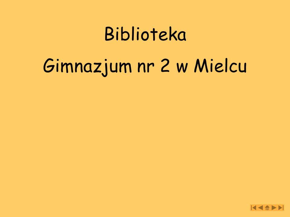 Krótko o bibliotece Biblioteka gimnazjum działa od 01.09.1999 roku.