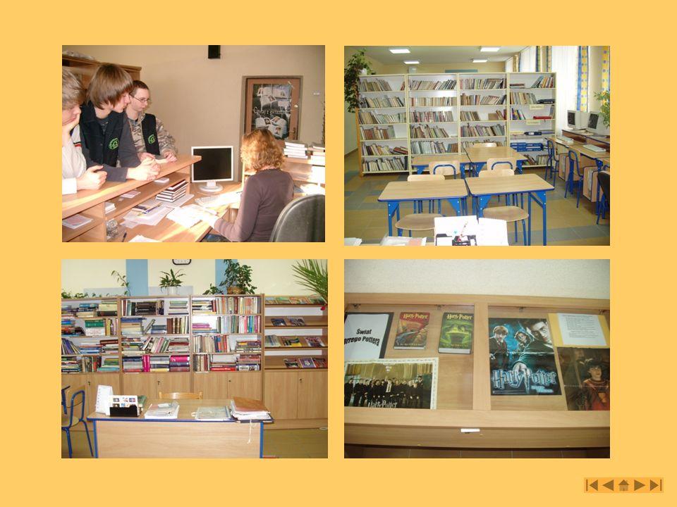 Biblioteka szkolna Gimnazjum nr 2 w Mielcu ul.Grunwaldzka 7 39-300 Mielec tel.