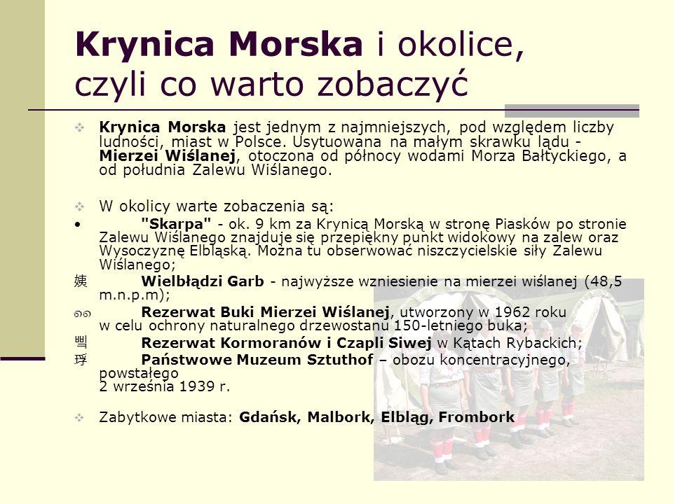 Krynica Morska i okolice, czyli co warto zobaczyć Krynica Morska jest jednym z najmniejszych, pod względem liczby ludności, miast w Polsce. Usytuowana