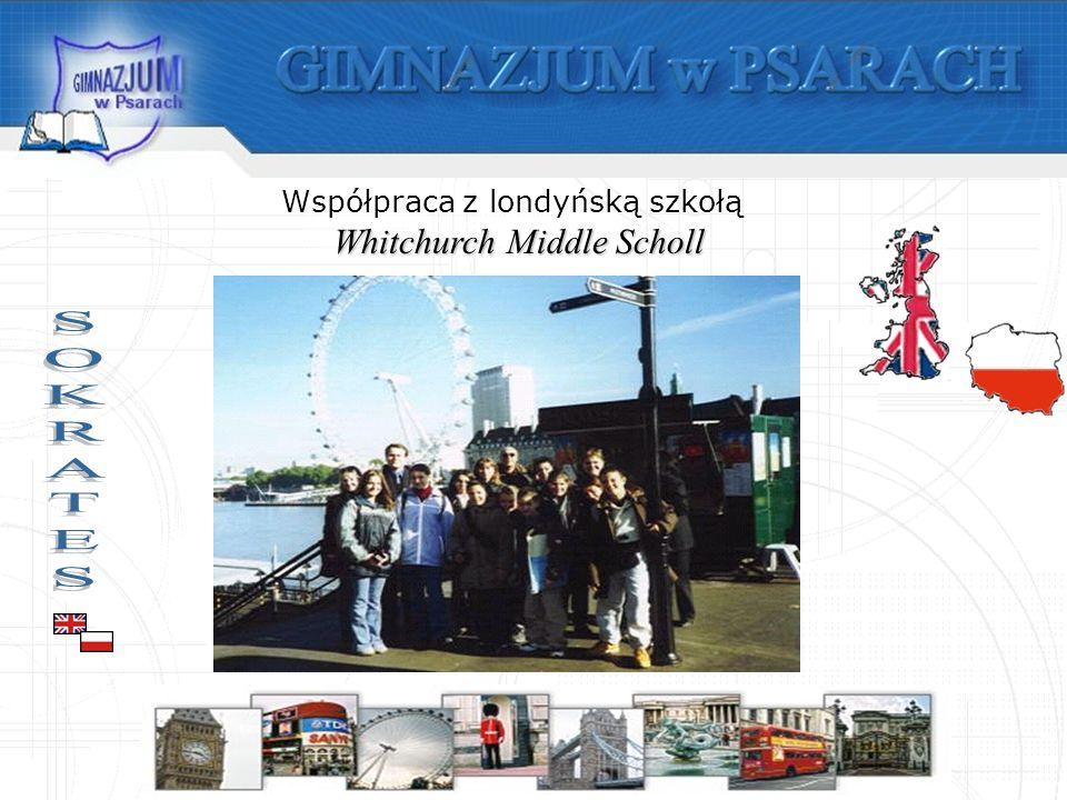 Współpraca z londyńską szkołą Whitchurch Middle Scholl