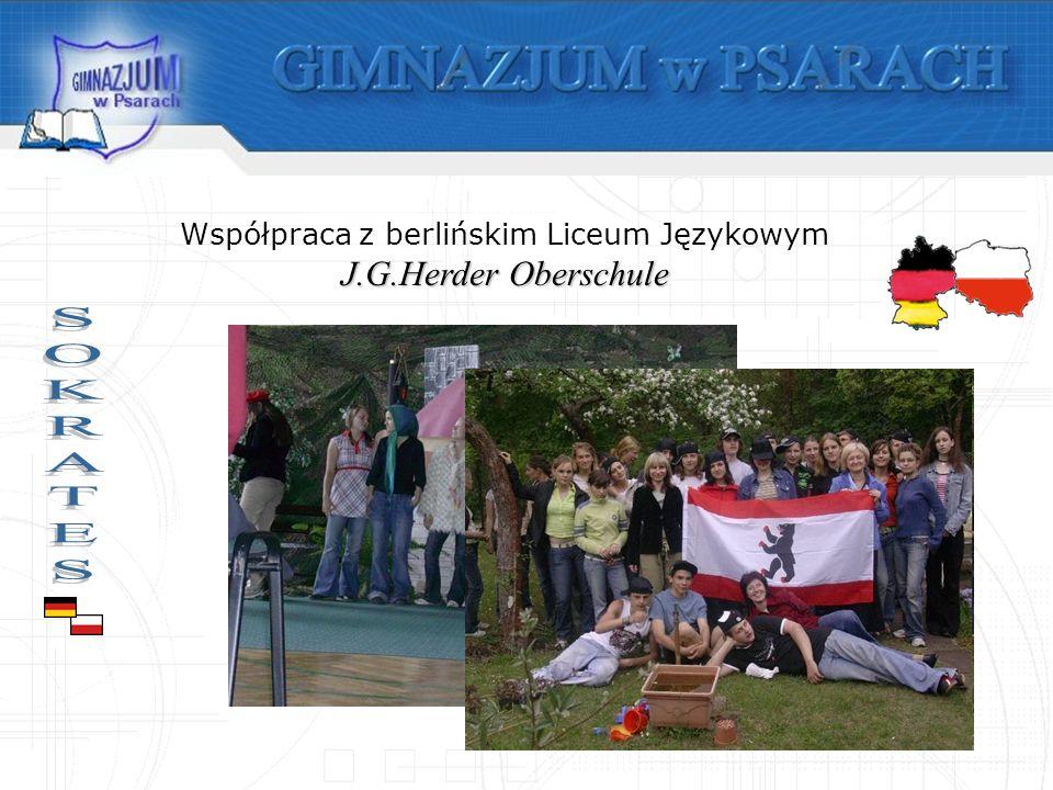 J.G.Herder Oberschule Współpraca z berlińskim Liceum Językowym J.G.Herder Oberschule