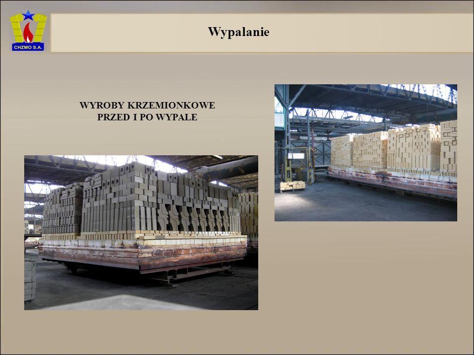 Zabezpieczenie surowców Możliwości magazynowania surowców w Chrzanowskich Zakładach Materiałów Ogniotrwałych S.A. 6 tysięcy ton