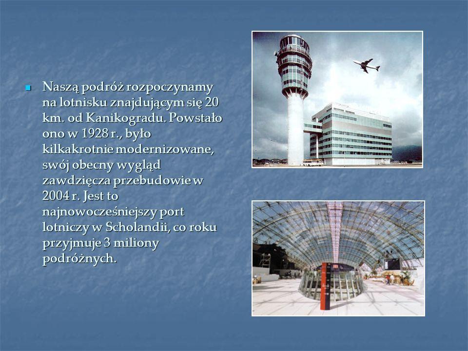 Naszą podróż rozpoczynamy na lotnisku znajdującym się 20 km. od Kanikogradu. Powstało ono w 1928 r., było kilkakrotnie modernizowane, swój obecny wygl
