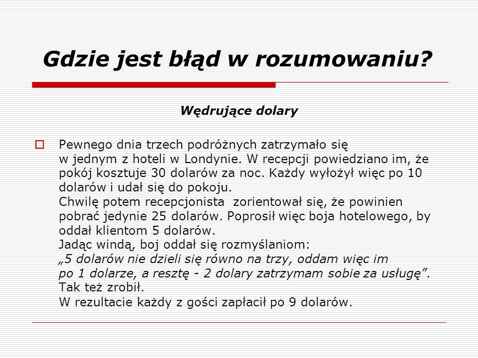 Złudzenia Policzmy: Długość sznurka to obwód koła.