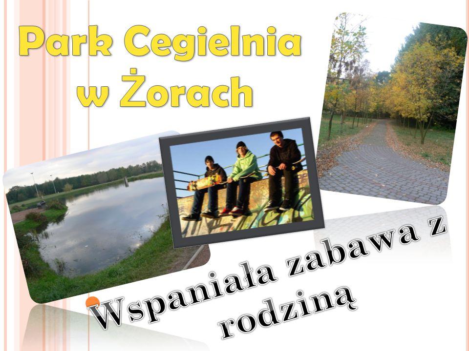 Park Cegielnia to niesamowite miejsce do spędzenia miłego czasu z całą rodziną.