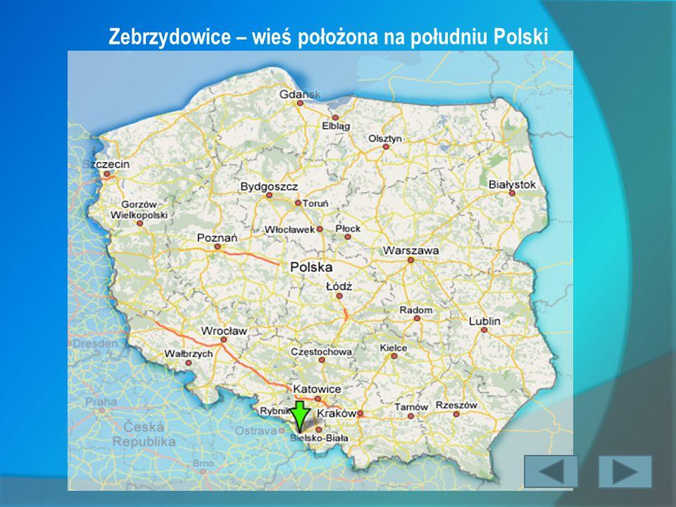 Zebrzydowice – wieś położona na południu Polski