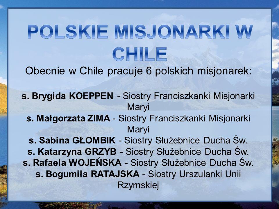Nie brak w Chile także i polskich misjonarzy.o. Adam BARTYZOŁ - Misjonarze Klaretyni br.