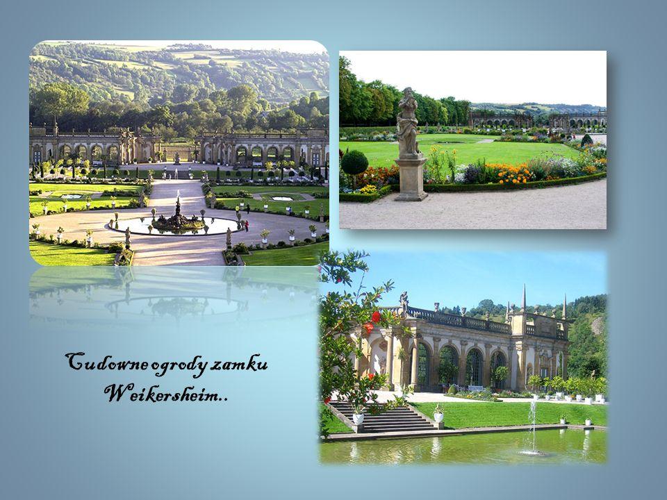 ~ Weikersheim ~ Największą atrakcją jest zamek Weikersheim, uważany za najpiękniejszą siedzibę rodu Hohenlohe. Dzisiaj ten renesansowy zamek jest udos