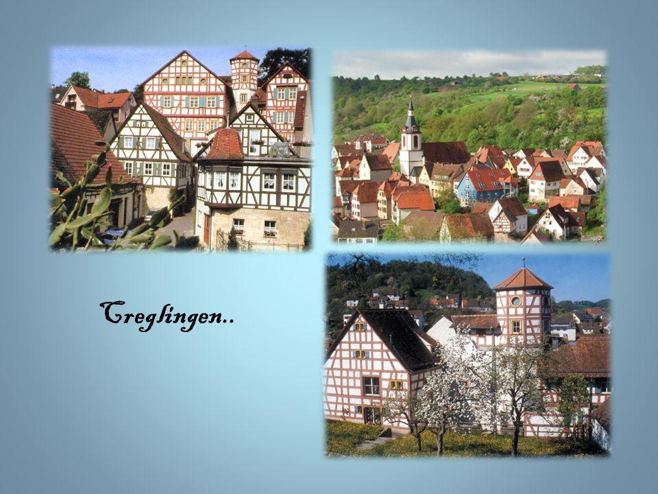 ~ Creglingen ~ Podczas drogi do Schillingsfürst zahaczamy o kolejne miasteczko – Creglingen. Ma ono prawdziwe starożytne korzenie. Jego początki sięga