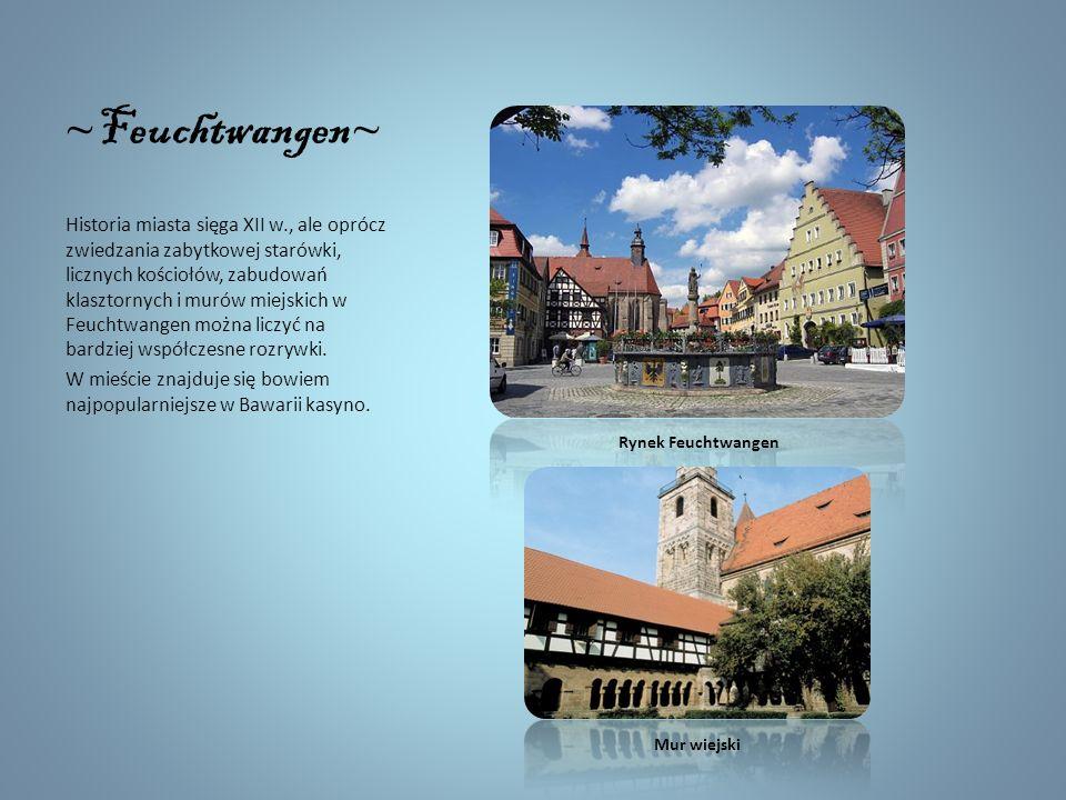 Romantyczną scenerię zapewnia barokowy zamek Schillingsfürst. Na jego terenie znajduje się nie tylko muzeum, ale też