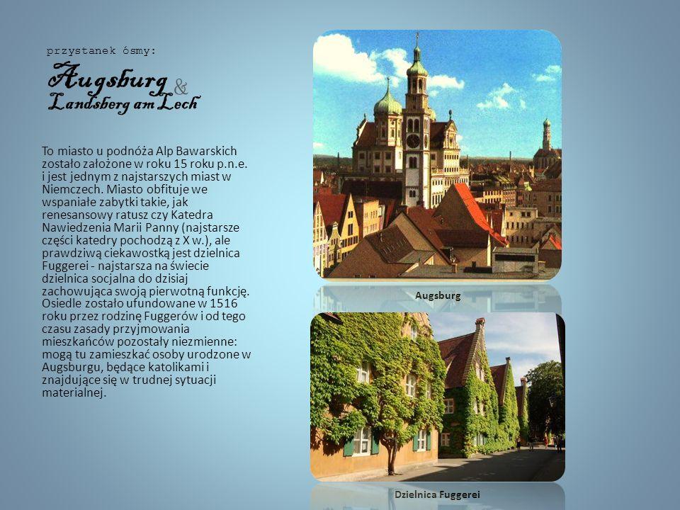 To miasteczko, w którym historię wyczuwa się na każdym kroku. Bajecznie kolorowe fasady Reichsstrasse, wieże kościołów, pozostałości murów miejskich p