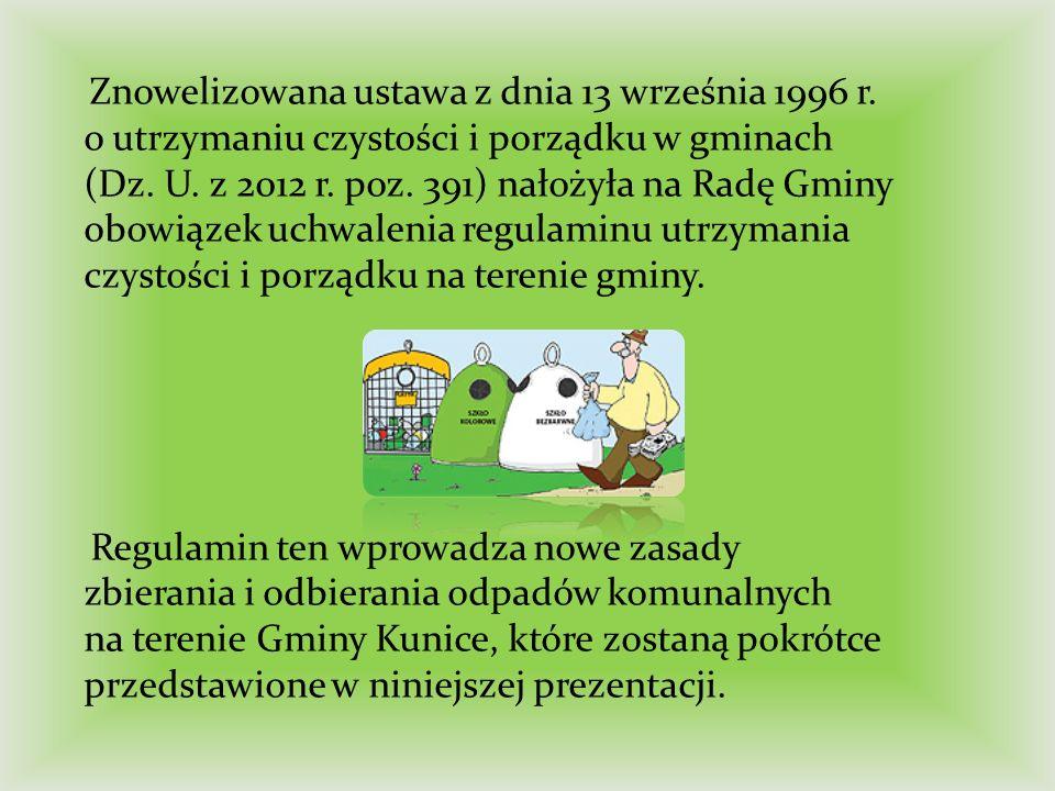 Od 1 lipca 2013 r.wchodzi w życie cały nowy system gospodarowania odpadami komunalnymi.