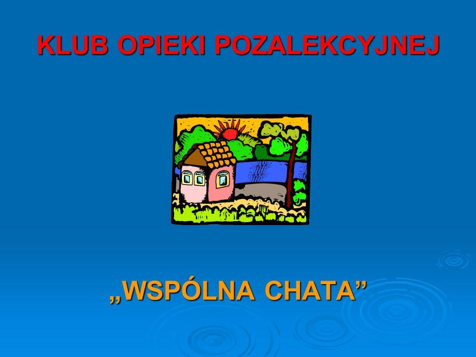 Klub Opieki Pozalekcyjnej w naszej szkole istnieje od 1995 r.