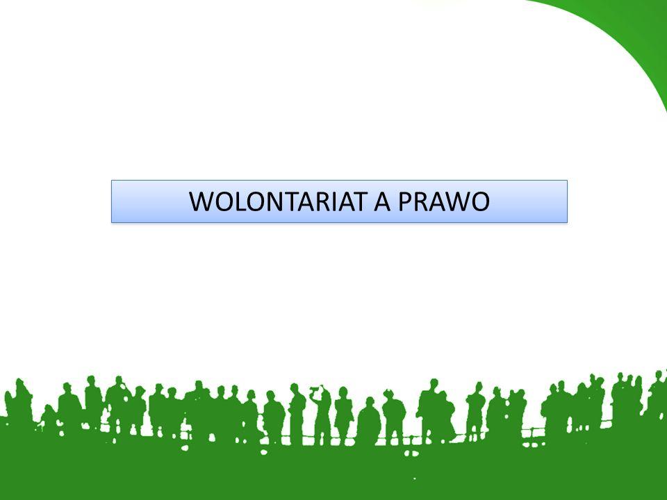 WOLONTARIAT A PRAWO