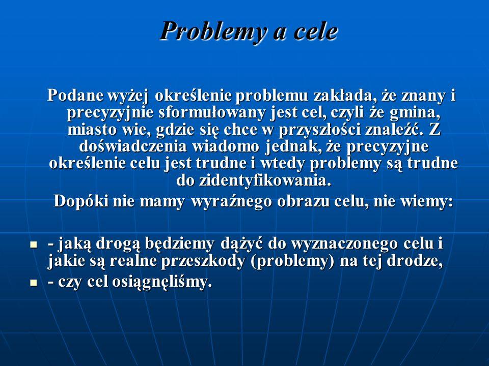 Problemy a symptomy Czasami za problem uznaje się jego symptom, czyli widoczne objawy i skutki problemu.