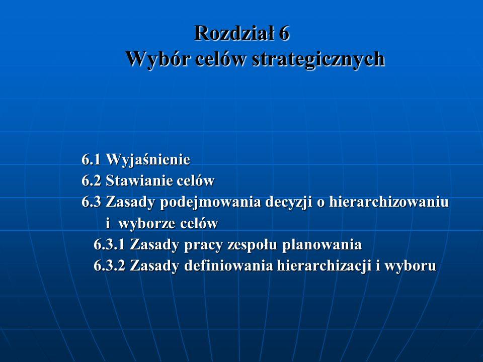 Rozdział 7 Wybór i opracowanie projektów do realizacji 7.1 Skąd się biorą projekty.