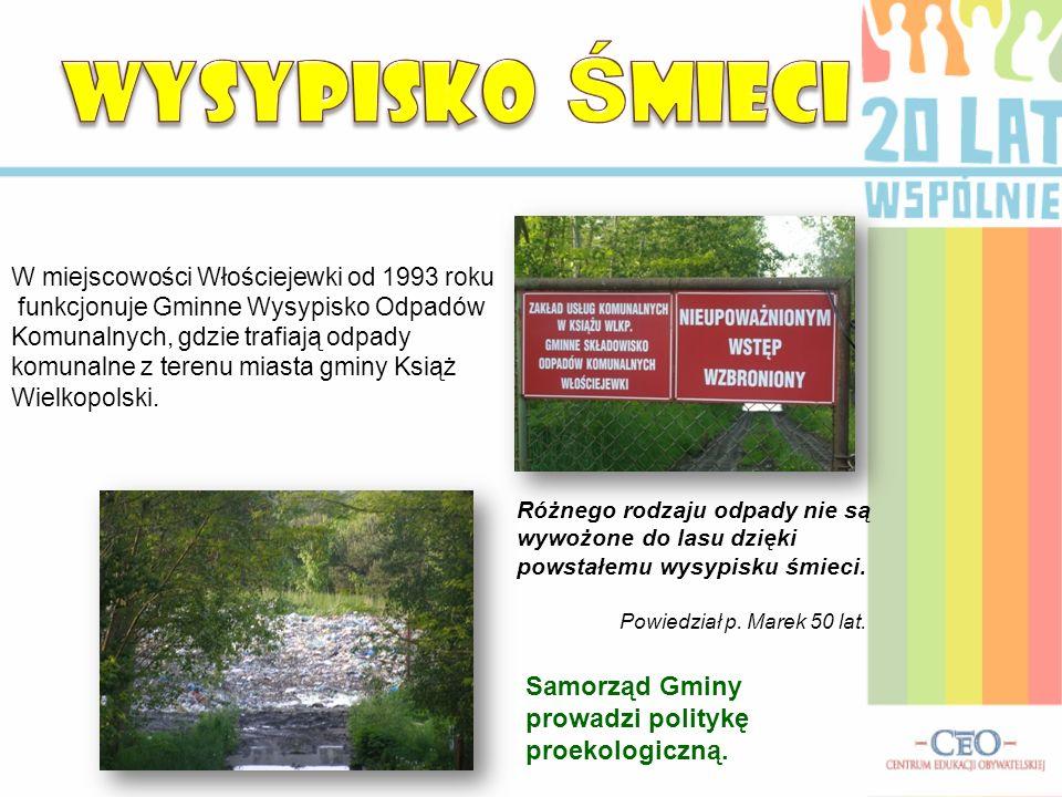 W miejscowości Włościejewki od 1993 roku funkcjonuje Gminne Wysypisko Odpadów Komunalnych, gdzie trafiają odpady komunalne z terenu miasta gminy Książ