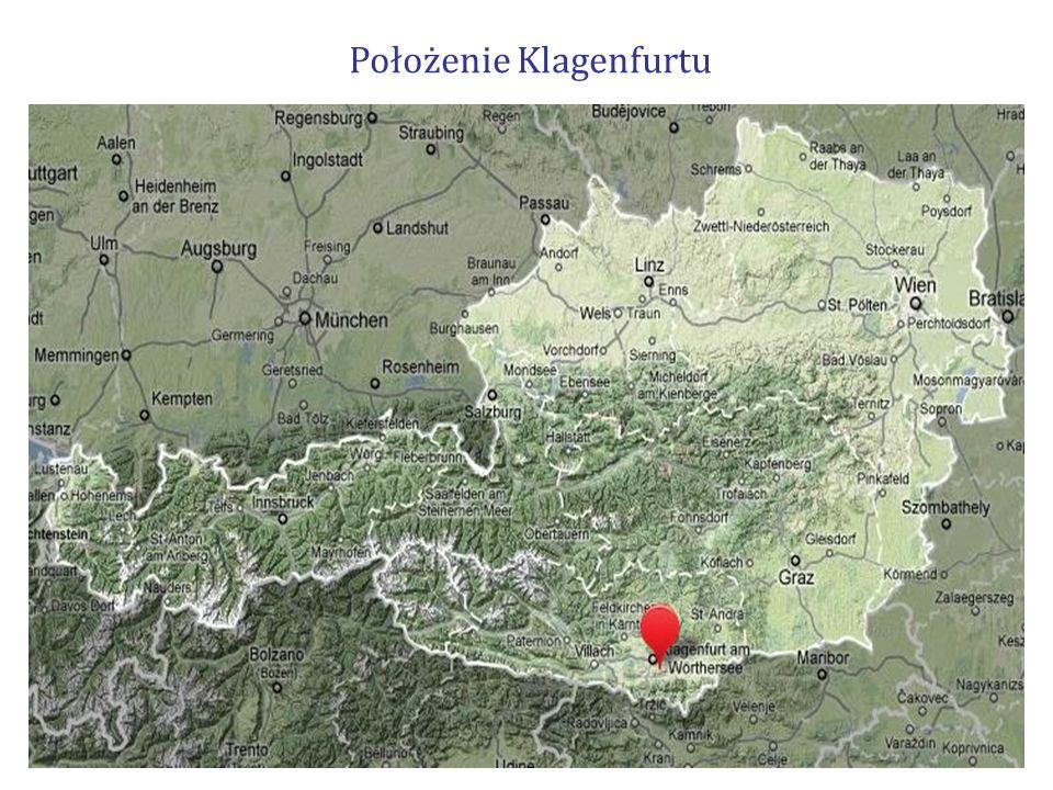 Położenie Klagenfurtu