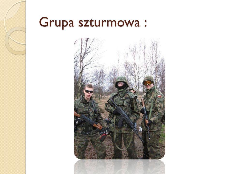 Grupa szturmowa :