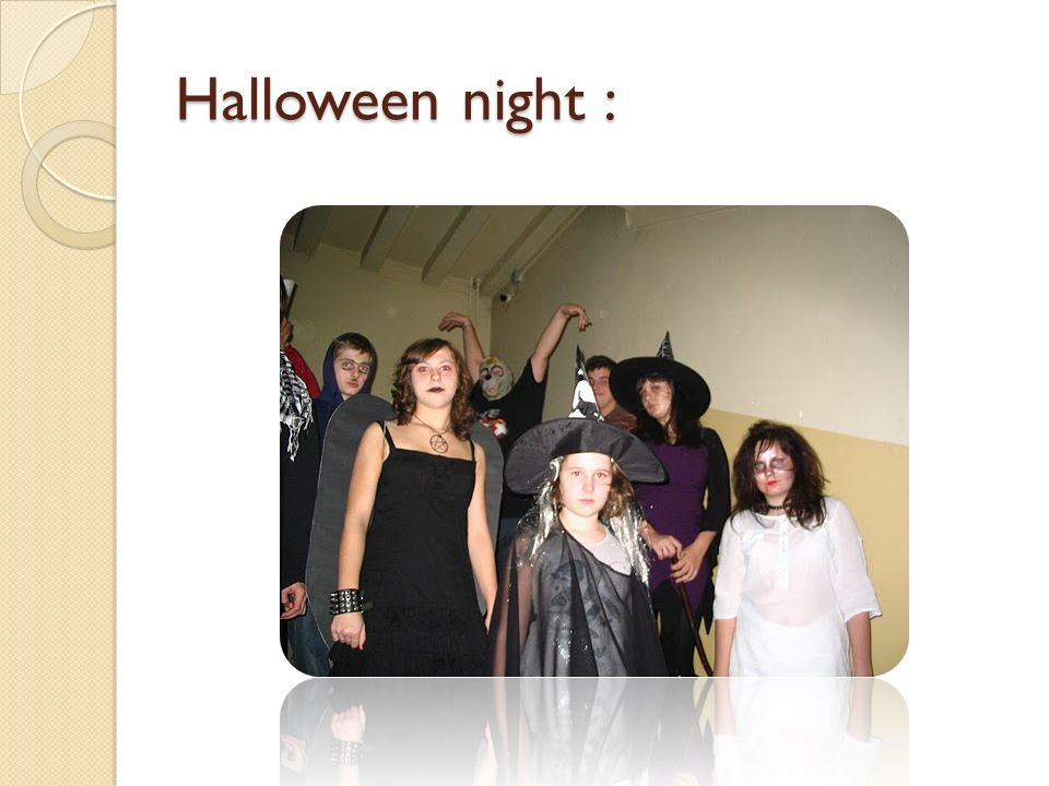 Halloween night :
