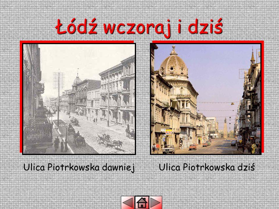 Łódź wczoraj i dziś To miejsce dawniej nazywano Rynkiem Nowego Miasta Teraz jest to Plac Wolności