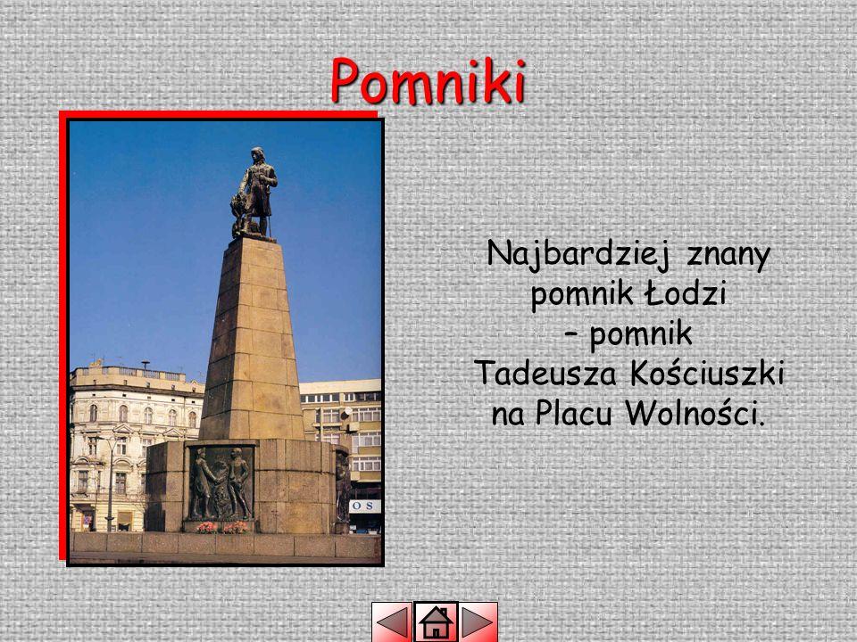 W każdym mieście znajdują się pomniki postawione dla uczczenia sławnych ludzi, lub wydarzeń sprzed lat.