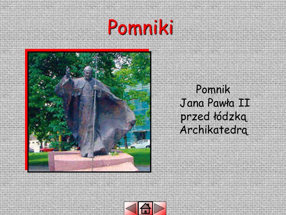 Pomniki Grób Nieznanego Żołnierza znajduje się na placu przed Archikatedrą.