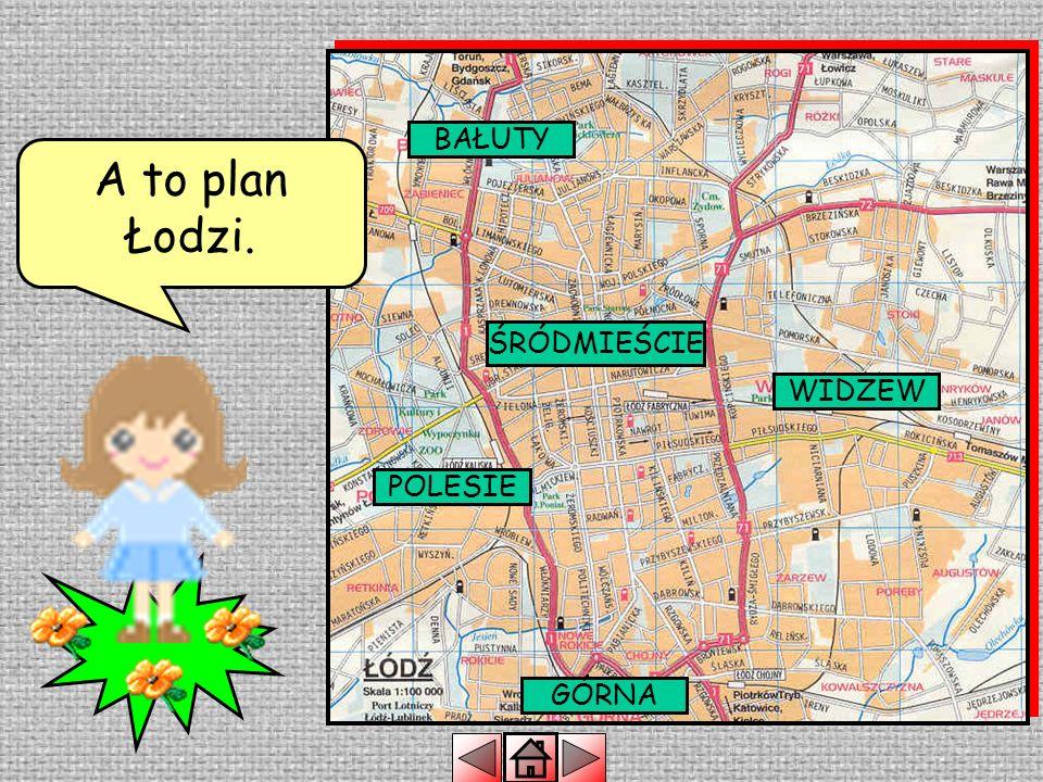 ŁÓDŹ WARSZAWA KRAKÓW GDAŃSK Łódź leży w centrum Polski POZNAŃ