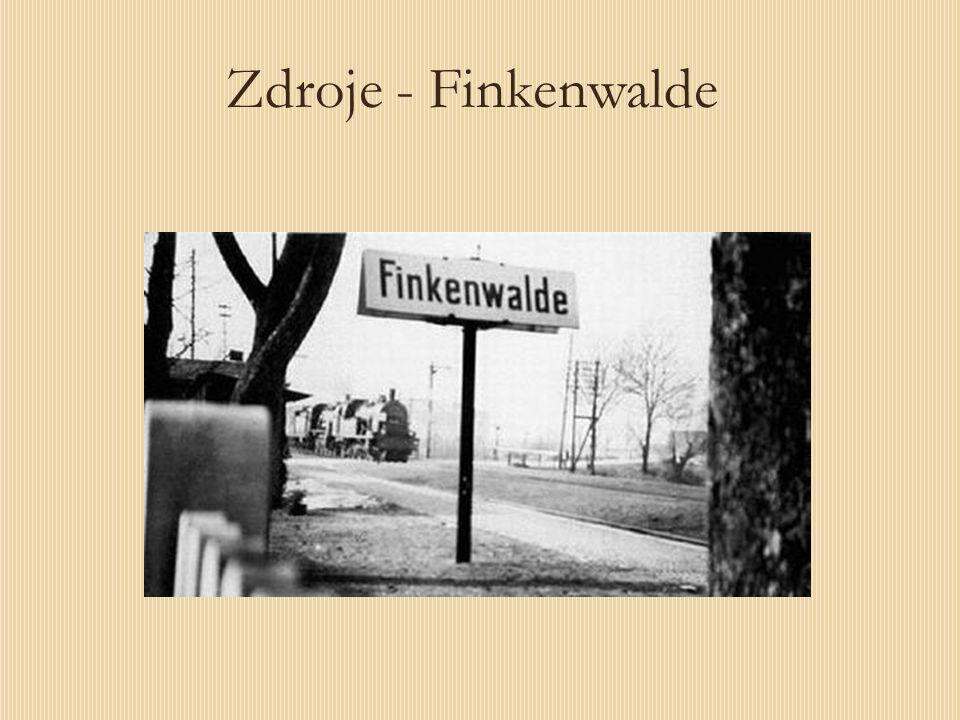 Zdroje - Finkenwalde