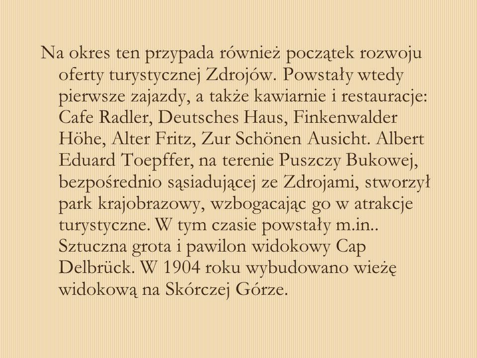 Niewątpliwą atrakcją turystyczną okolic Jeziora Szmaragdowego byłą również, ufundowana przez Alberta Eduarda Toepffera, grota.