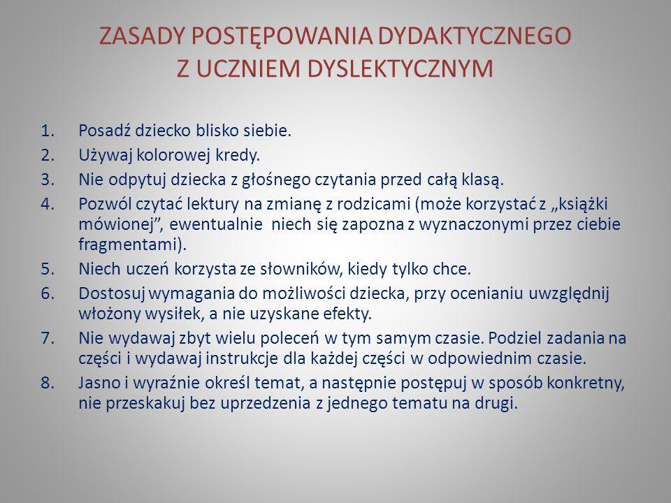 BIBLIOGRAFIA 1.O dysleksji prawie wszystko, Dialogi nr 1(21) 2002.