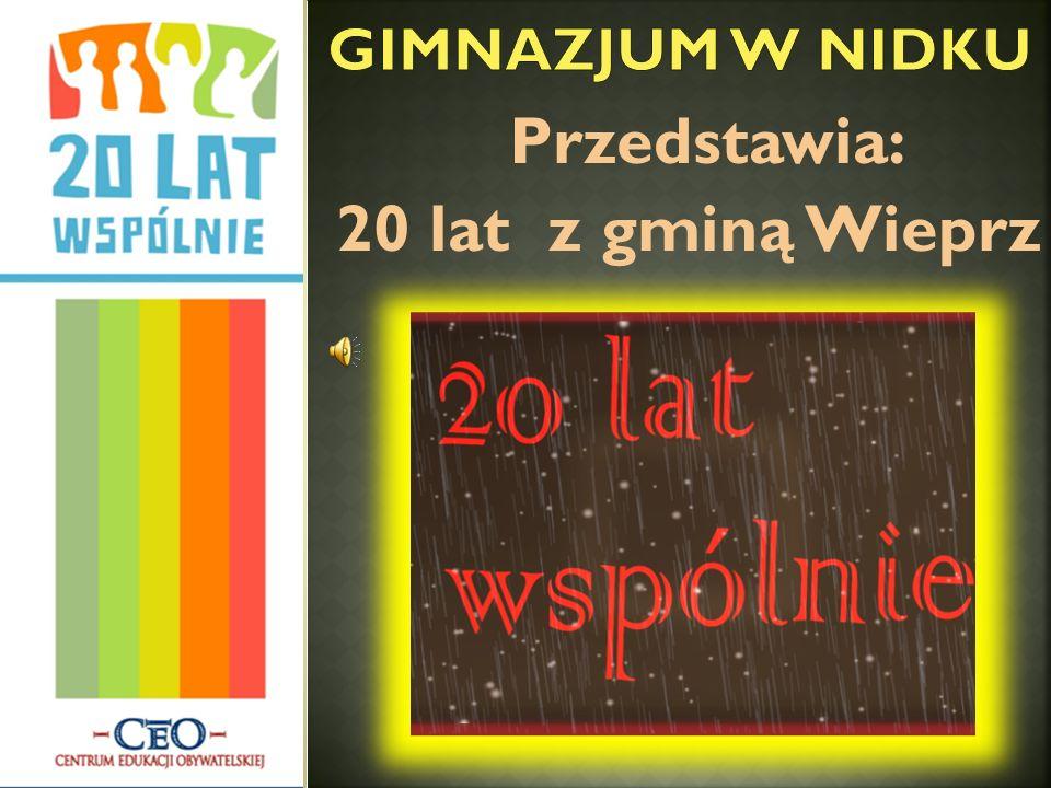 Przedstawia: 20 lat z gminą Wieprz
