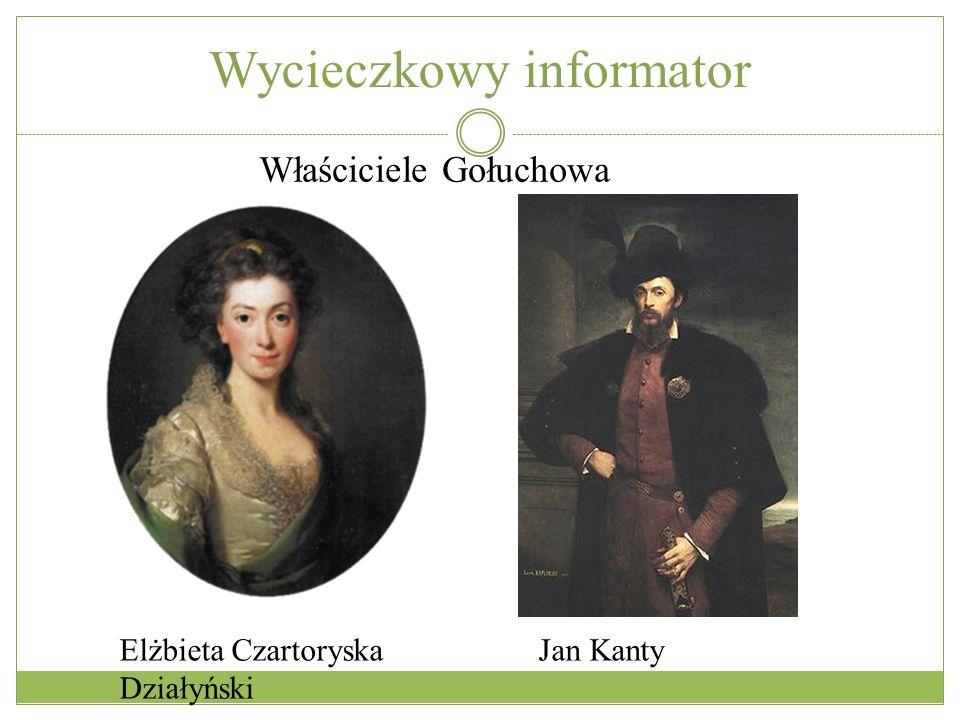 Elżbieta Czartoryska Jan Kanty Działyński Właściciele Gołuchowa