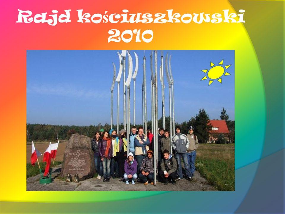 Rajd ko ś ciuszkowski 2010