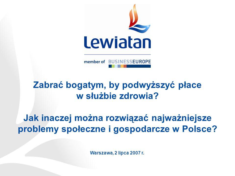 Najnowsze rządowe pomysły Podwyższyć PIT Opodatkować najbogatszych Wprowadzić kataster Podwyższyć CIT Opodatkować milionerki To ma być odpowiedź na wyzwania stojące przed Polską???
