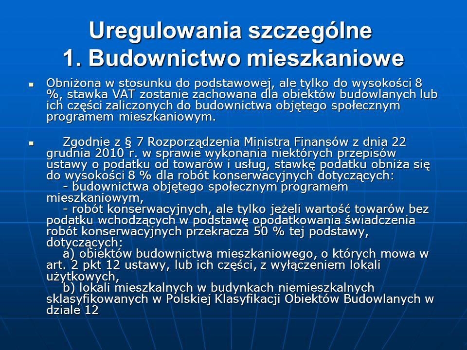 6.Zmiany w katalogu zwolnień (art.21 ust.