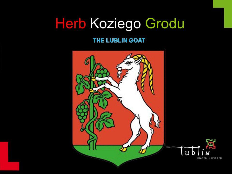 Historia herbu Potocznie Lublin zwany jest Kozim Grodem.